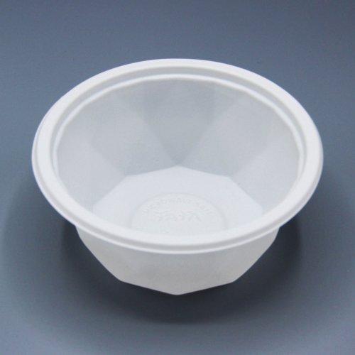 ชามพลาสติกสีขาว B01