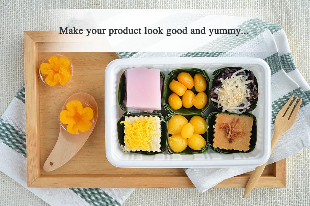 บรรจุภัณฑ์รักษ์โลกของ ฟาฟา ช่วยเสริมให้อาหารจานโปรดดูสวยงาม
