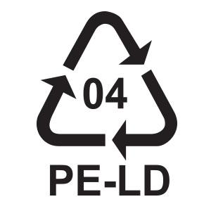 พลาสติกรีไซเคิล เบอร์ 4 LDPE หรือ Low Density Polyethylene